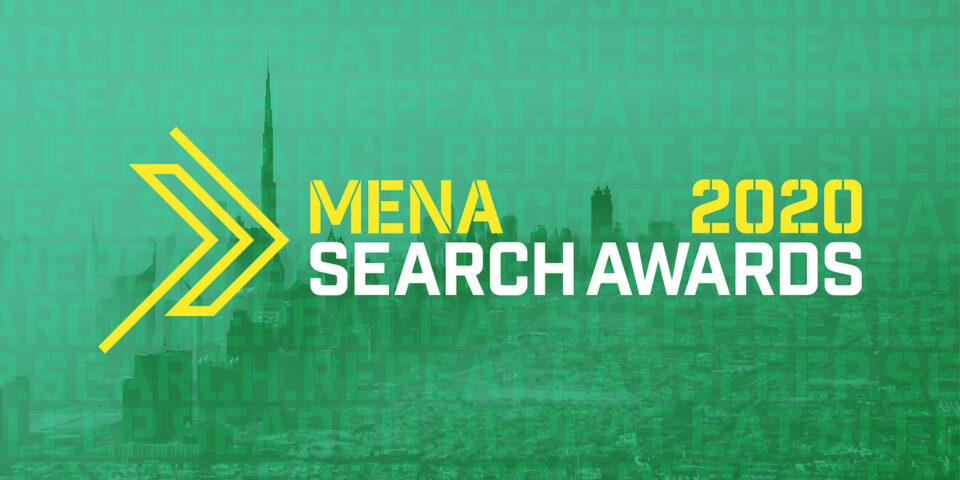 MENA 2020 Search Awards Nominations.