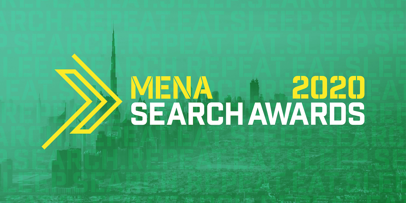 MENA 2020 Search Awards Nominations.
