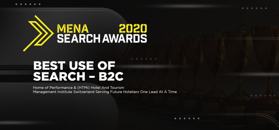 MENA 2020 Search Award Winner.